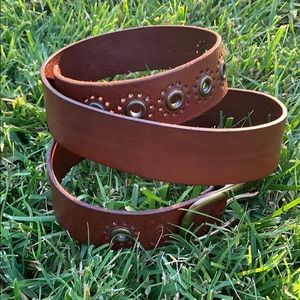 •RALPH LAUREN• Genuine Leather Belt